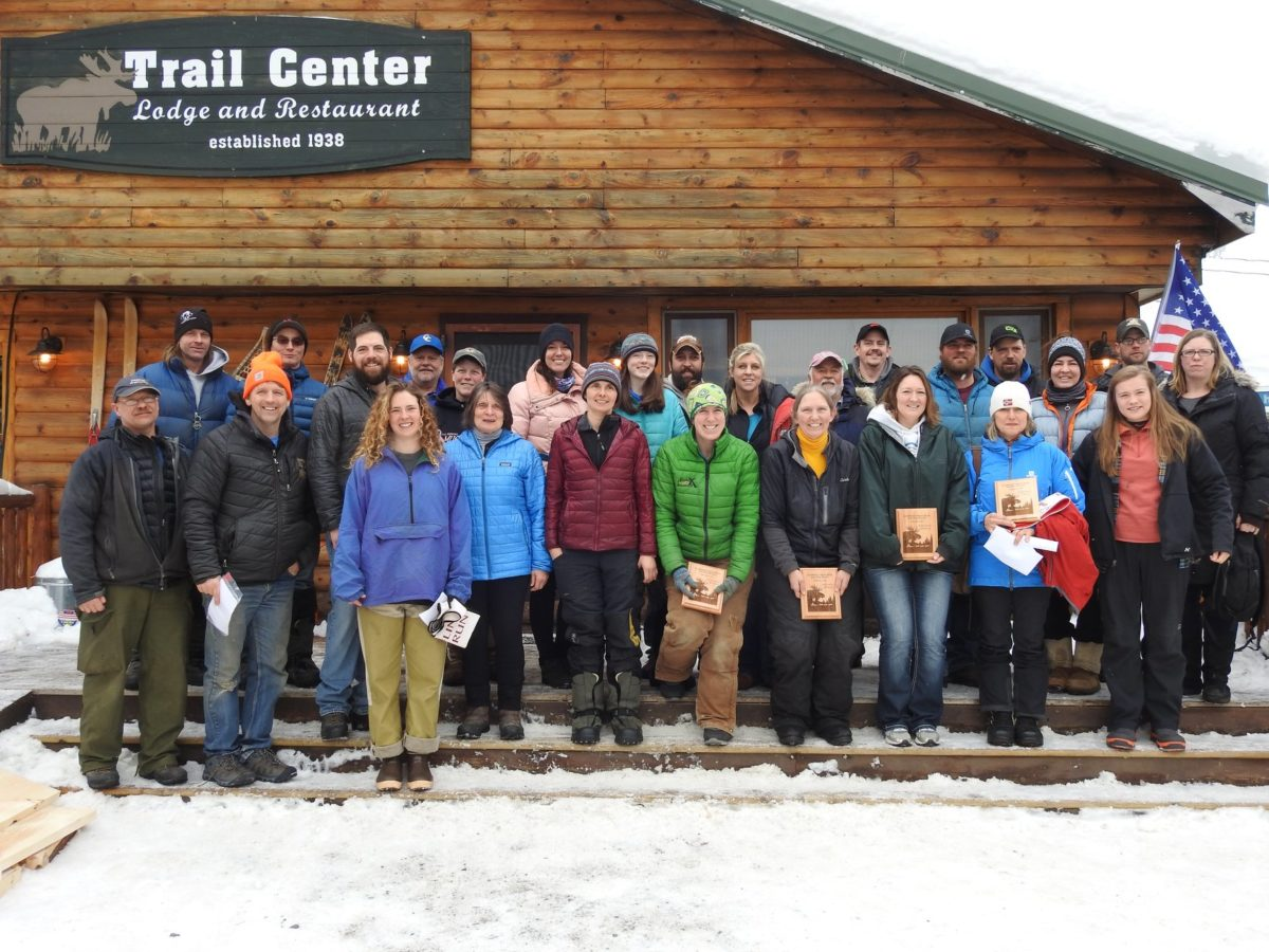 Participants of the 2019 Gunflint Mail Run